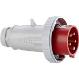 LEGRAND Industrial Plug 3P+N+E - 32A 380/415V P17 Tempra IP44 [58129] - Steker Besar / Bulat